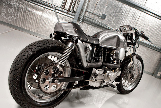 1979 Harley Ironhead Cafe Racer by DP Customs