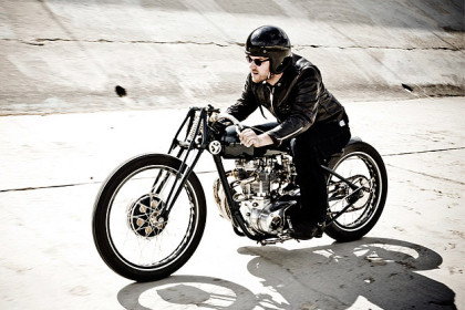 Ian Barry of Falcon Motorcycles