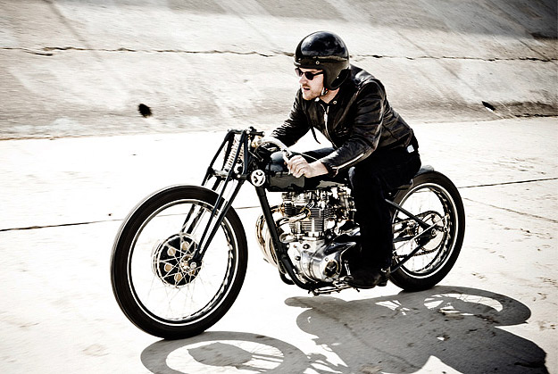 Ian Barry of Falcon Motorcycles