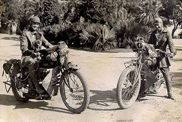 Van Buren sisters, motorcycle adventurers