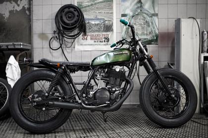 Yamaha SR500 custom