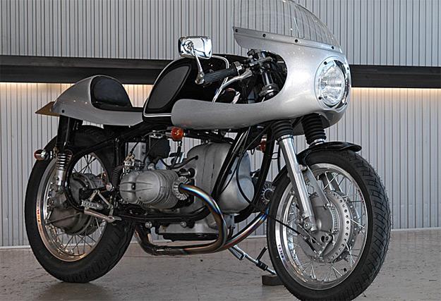 Radical BMW R69S custom by Ritmo Sereno