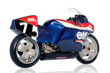 ELF Honda motorcycle