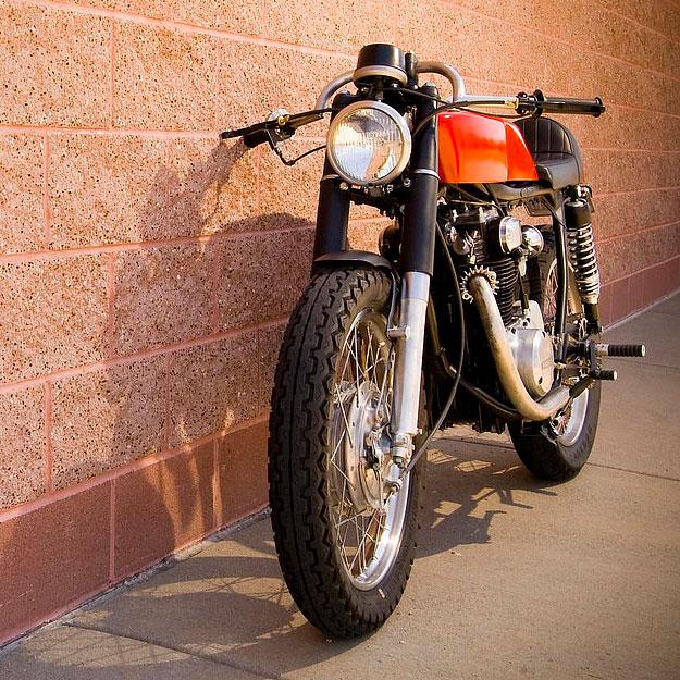 Benjie's Café Honda CB350; |Honda CB550 cafe racer