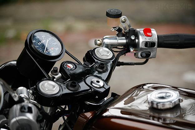 Moto Guzzi SP 1000 custom
