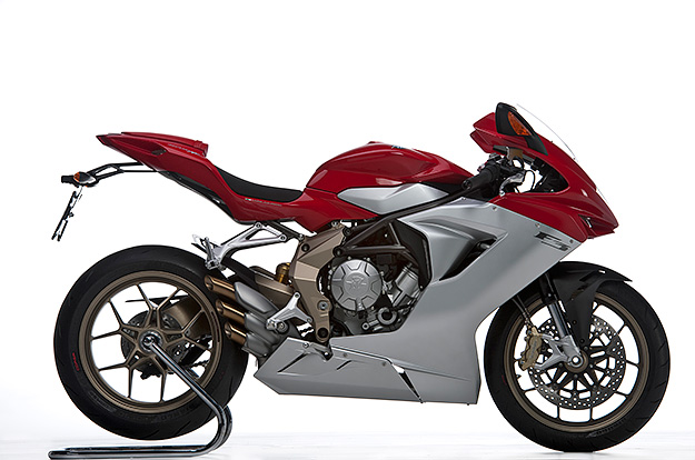 At the EICMA exhibition in Milan, the MV Agusta F3 has just won the poll to