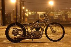 Triumph Pre-Unit custom