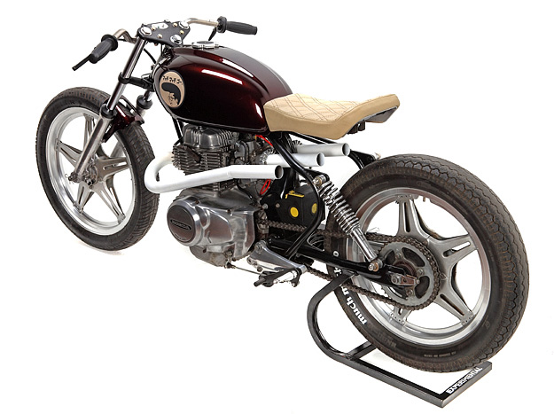 Honda CB250 custom: Much Much Go