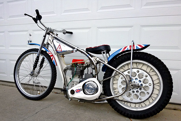 Speedway motorcycle
