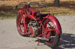 Vintage Moto Guzzi Corsa 2V
