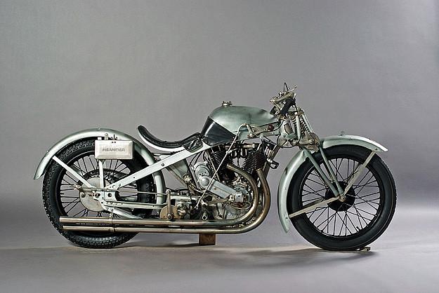 Neander motorcycle