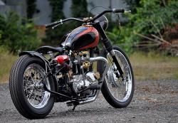 1967 Triumph Tiger custom