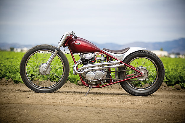 Bike Exif Honda 360 show stopping Honda custom