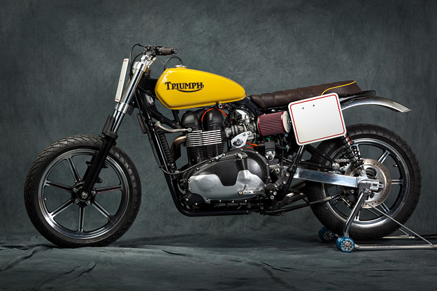 Triumph Bonneville custom by Martini