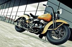1943 Harley WLC flathead