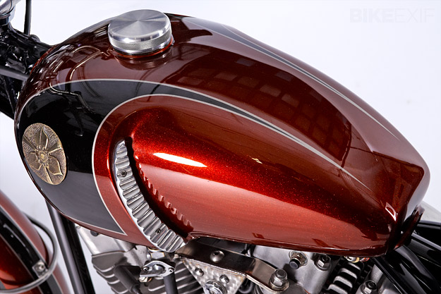 Harley Shovelhead 'Speed Glide' built by Walt Siegl