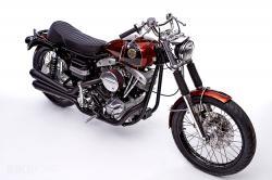 Harley Shovelhead by Walt Siegl