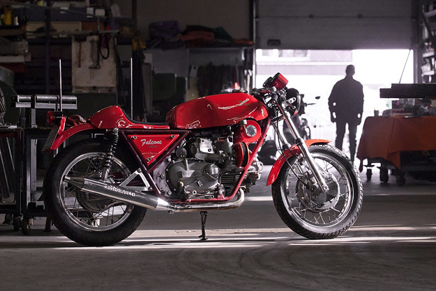 Motorcycle supercharger: Moto Guzzi Falcone