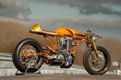 Custom BSA motorcycle: Son of a Gun