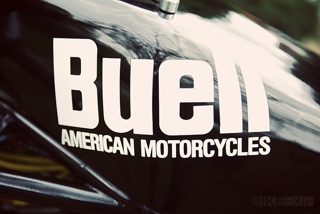 Buell racing motorcycle