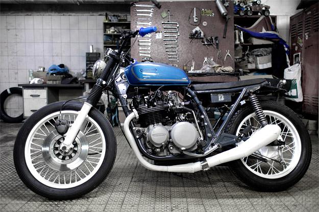 Custom Kawasaki Z650 by Blitz Motorcycles