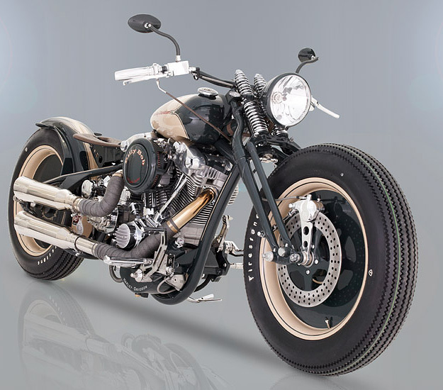 Revtech custom motorcycle