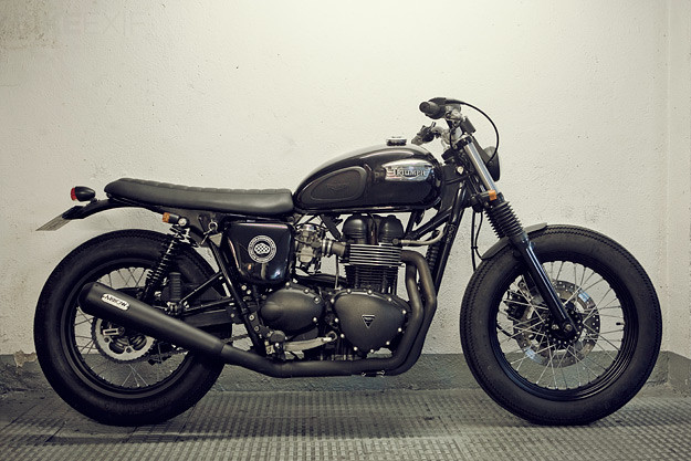 Triumph Bonneville custom