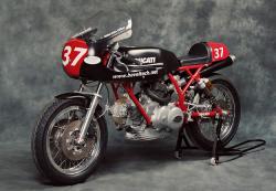 Tony Hannagan's Ducati 900SS racer