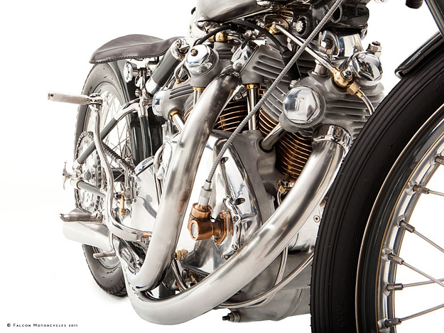 Vincent Black Shadow: Falcon Motorcycles' Black Falcon