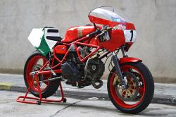 Ducati TT2 racing motorcycle
