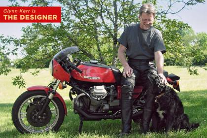 Glynn Kerr, motorcycle designer