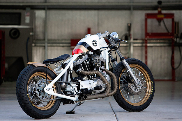Harley ironhead by DP Customs