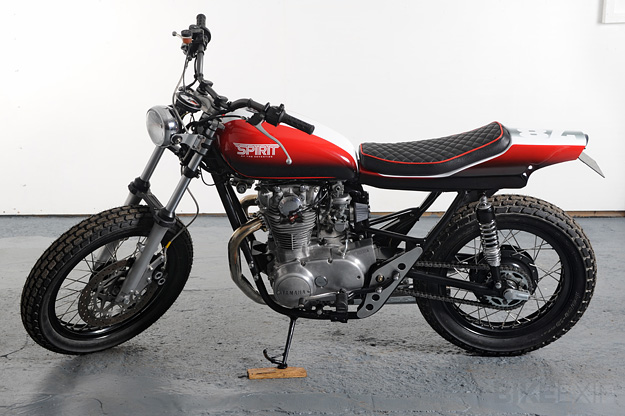 Street tracker custom-built by Spirit of The Seventies.