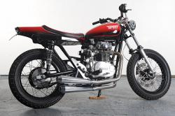 Spirit of The Seventies' Yamaha street tracker