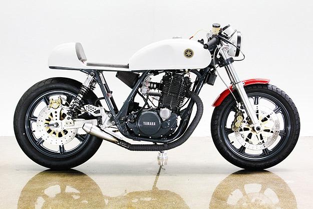 Video Yamaha SR500 café racer Lossa-yamaha-sr500