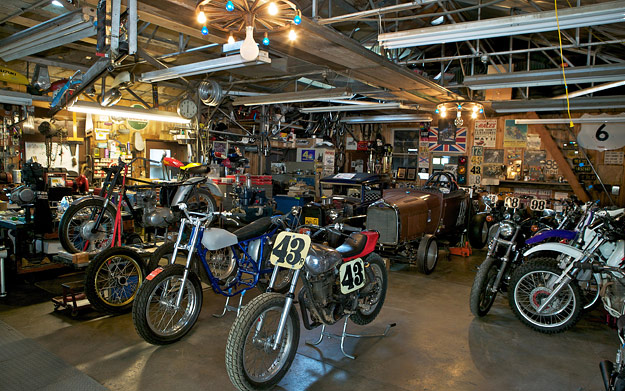 Wallpaper: Motorcycle Dream Garages