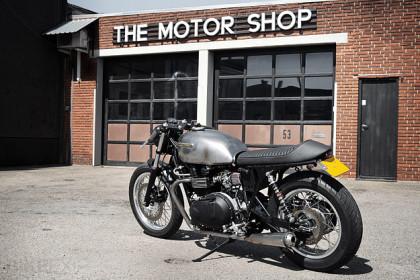 Triumph Thruxton custom