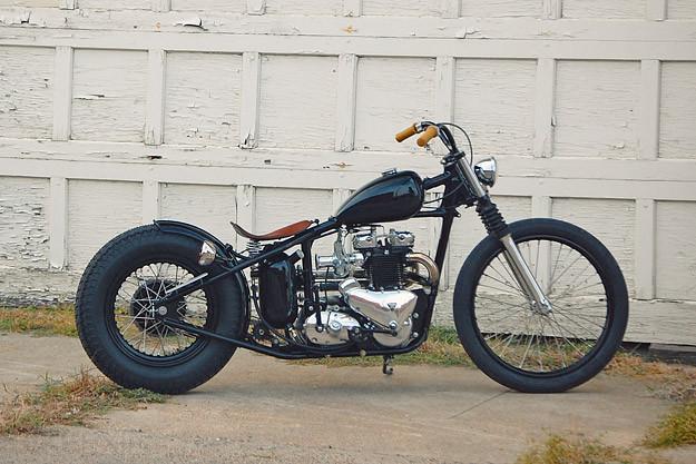 Triumph Thunderbird motorcycle