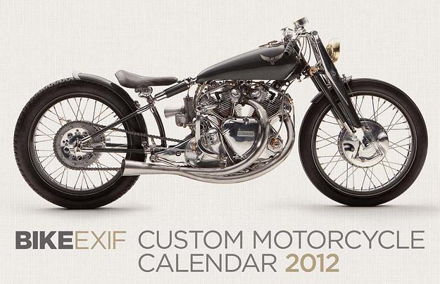 Motorcycle calendar