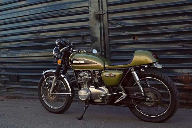 vanabaune  Honda CB550 custom