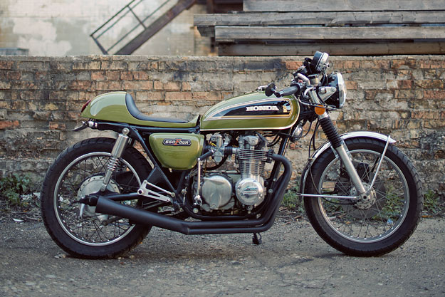 Victor Sultana's custom Honda CB550