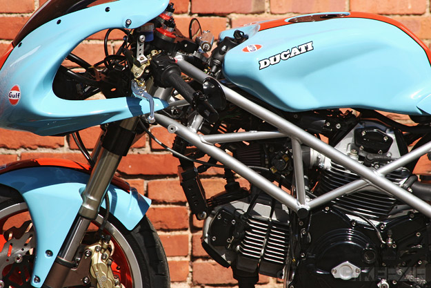 Custom Ducati by Johann Keyser