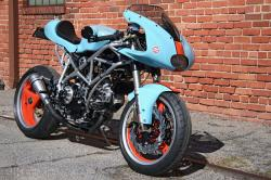 Ducati Gulf Oil cafe racer