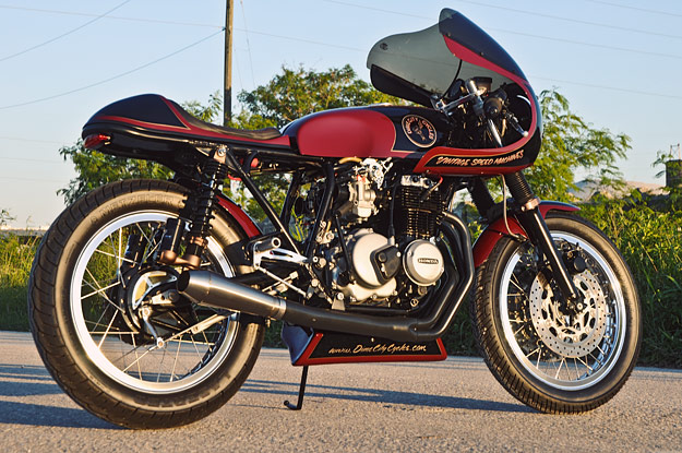 Cafe racers, custom motorcycles and classic motorcycles