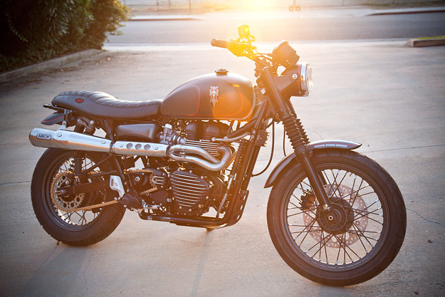 Triumph Scrambler by Roland Sands Design.