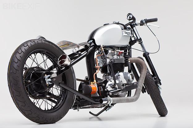 1973 Triumph Tiger by Helrich Custom Cycles