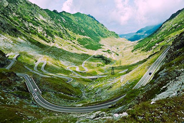Alpine road image by Horia Varlan