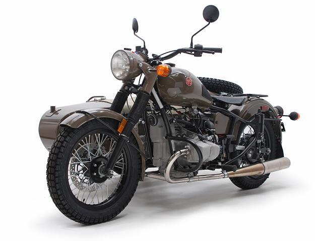 Ural motorcycle