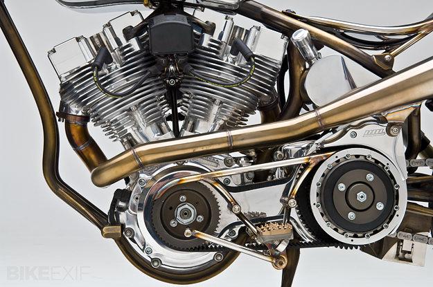 ACHUMA S&S Shovelhead 93-inch high compression motor