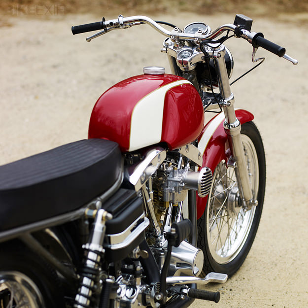 Harley FLH custom by Walt Siegl